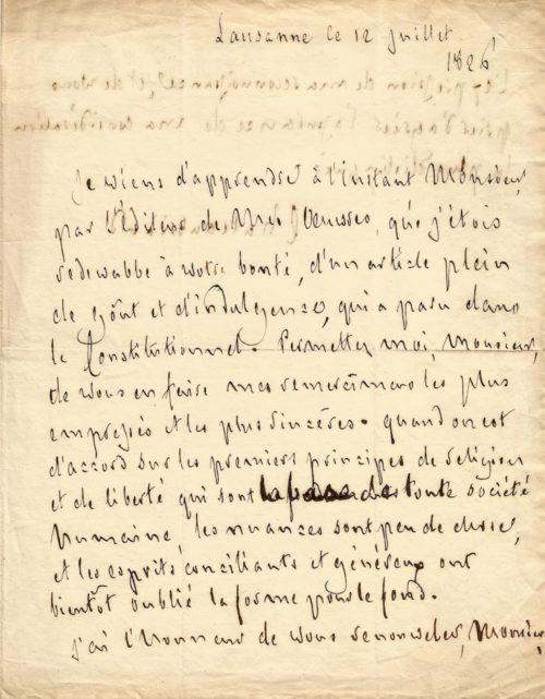 chateaubriand-lettre-autographe