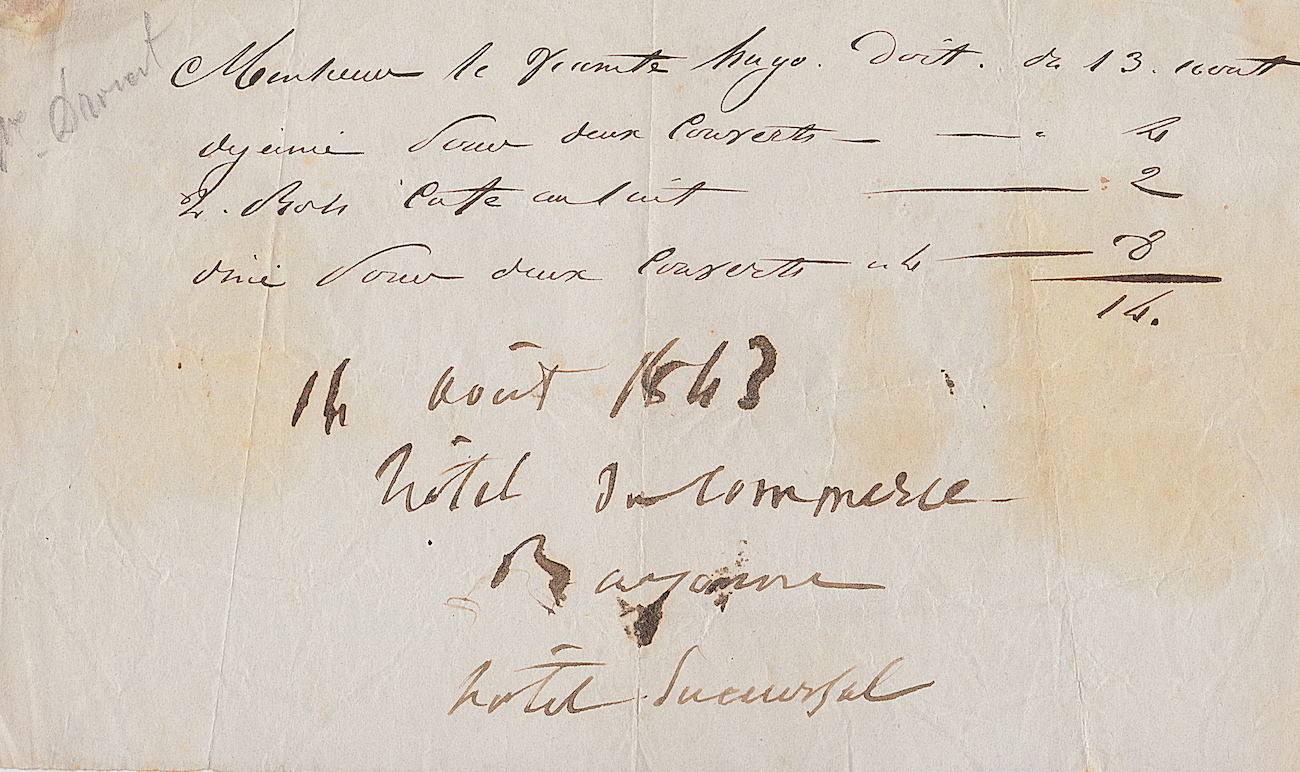 hugo et juliette drouet en voyage 1843. Black Bedroom Furniture Sets. Home Design Ideas